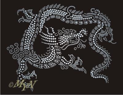 Сверкающий дракон